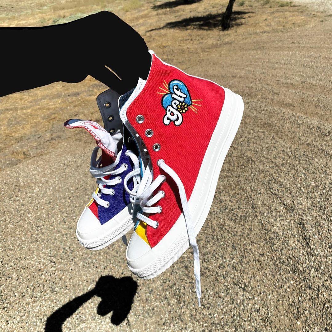 GOLF WANG x Converse 又有联名新鞋了!这次有趣又醒目