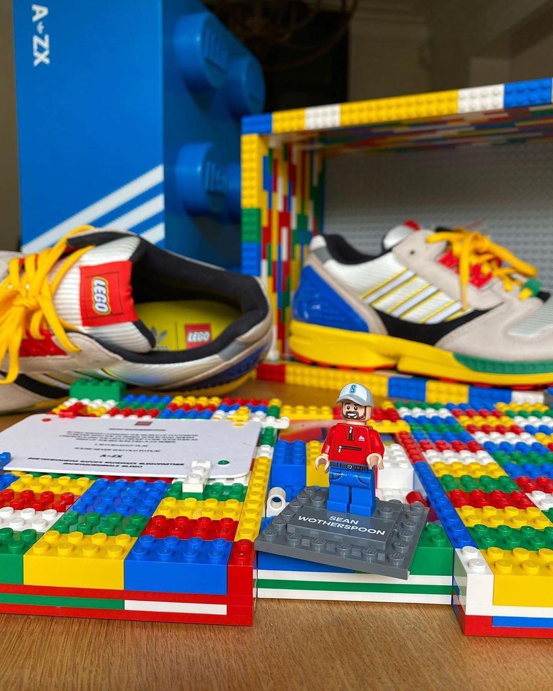 乐高鞋盒还有专属玩具!LEGO x adidas 本月底发售!