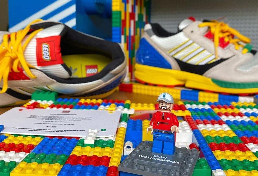 adidas,Sean Wotherspoon,ZX 800  乐高鞋盒还有专属玩具!LEGO x adidas 本月底发售!
