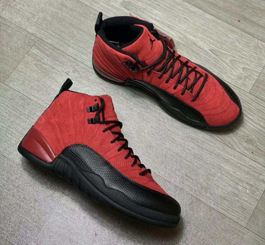 反转黑红 Air Jordan 12 最新实物曝光!年底即将发售!