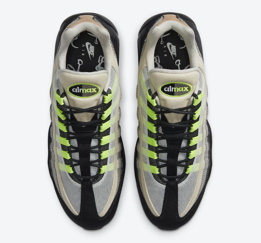 经典元年配色!DENHAM x Nike Air Max 95 月底发售!