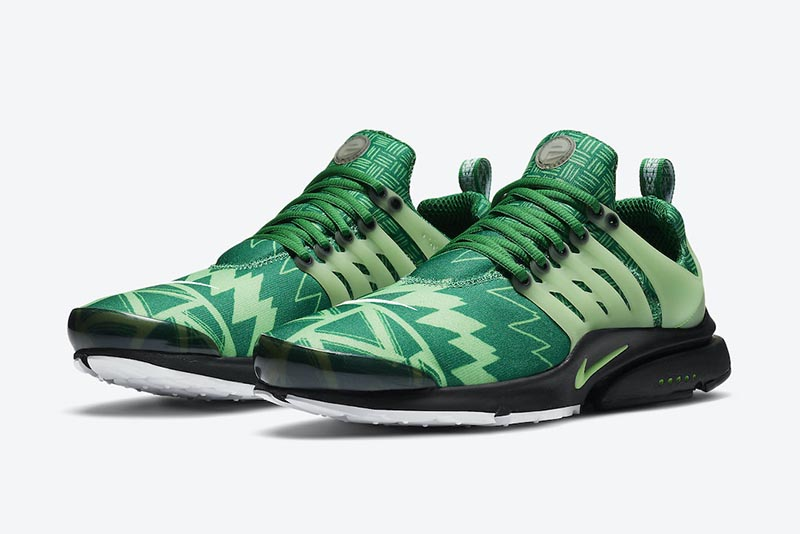 "Nike,Air Presto,Naija,CJ1229-3  尼日利亚专属配色!Nike Air Presto ""Naija"" 即将发售!"