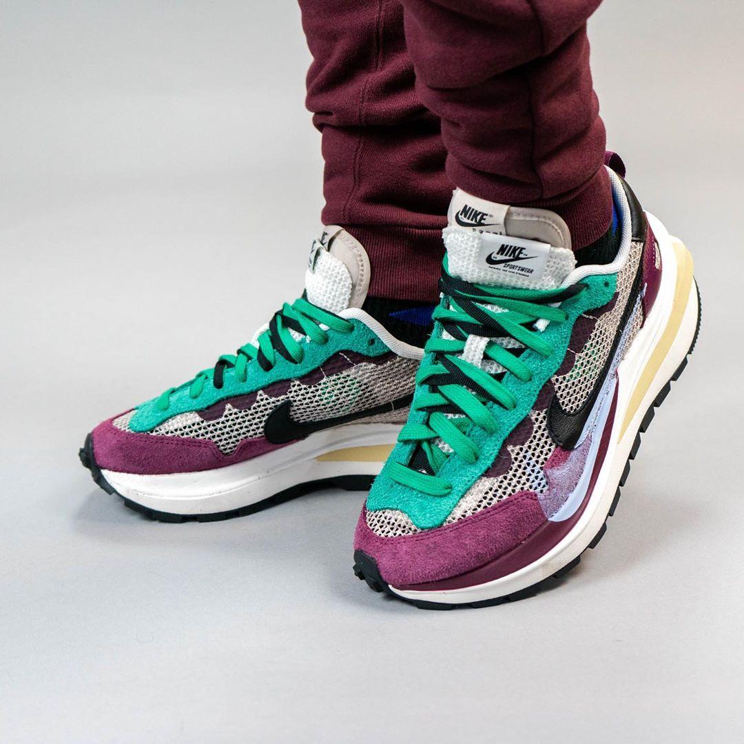 sacai,Nike,VaporWaffle,DD3035-  sacai x Nike vaporwaffle 最新上脚照来了!预计秋季登场!