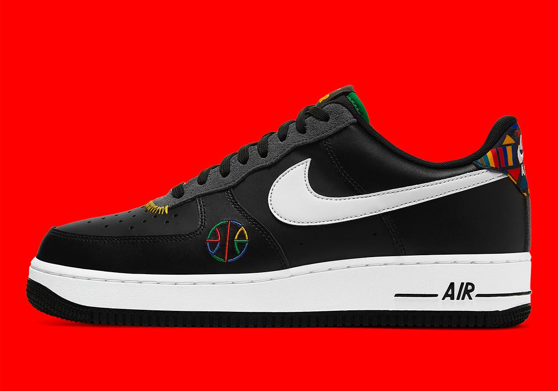 Air Force 1,AF1,Nike,DC1483-00  经典彩色图腾!复古街球主题 Air Force 1 即将发售!