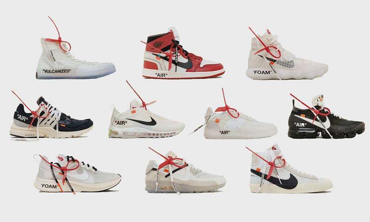 OFF-WHITE,Nike,Air Zoom Alphaf  OFF-WHITE x Nike 最新图片曝光!首发就有三款配色,只不过...