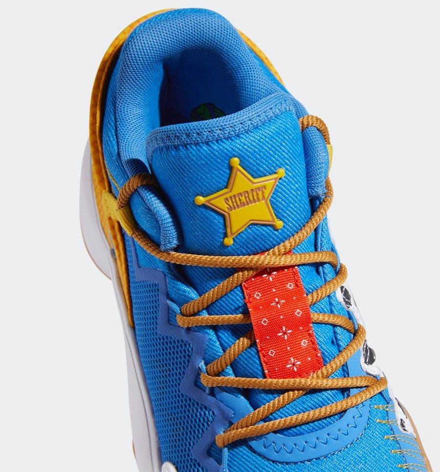 D.O.N. Issue #2,adidas,发售  人人都爱的《玩具总动员》联名又来了!真没想到居然是这双鞋!