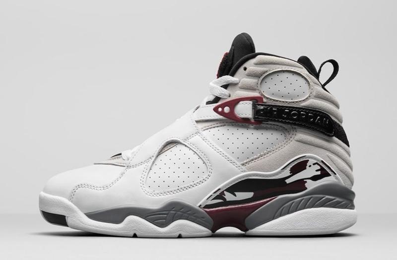 Air Jordan,AJ8,WMNS,Burgundy,C  清新脱俗!别忘了这双酒红 Air Jordan 8 即将发售!