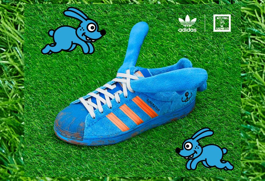 adidas Originals,adidas,Supers  抓紧登记!让人尖叫的 adidas 三叶草「蓝兔子鞋」来了!