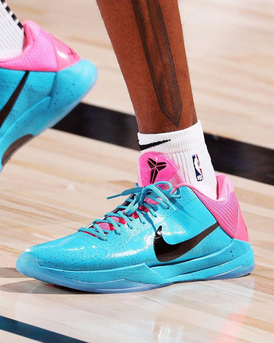Nike,Kobe 5 Protro,Miami Vice,  太帅了!南海岸 ZK5 首度曝光!上脚的居然是...