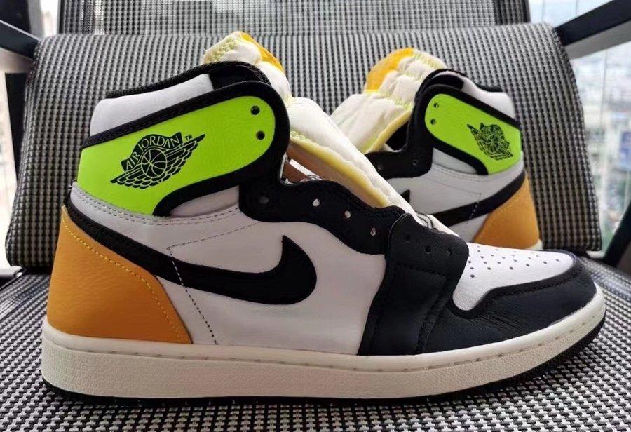 实物首次曝光!另类黑黄配色 Air Jordan 1 你打几分?