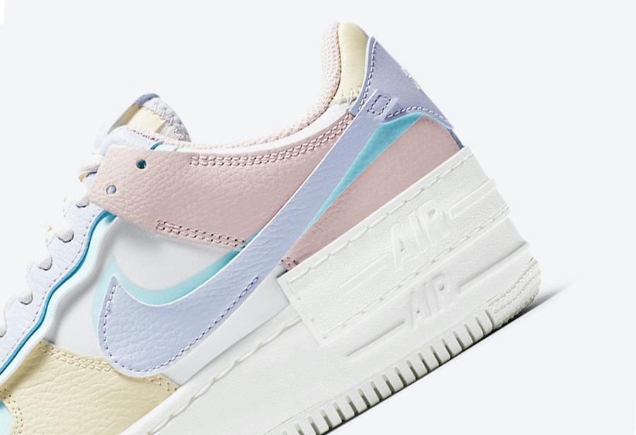 Nike,Air Force 1,Shadow,CI0919  解构设计!全新配色 Air Force 1 现已发售!