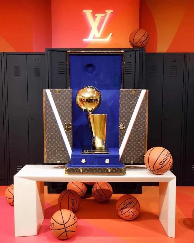 Louis Vuitton,LV,NBA Louis Vuitton LV x NBA 联名鞋首次曝光!还有一个冠军奖杯礼盒!