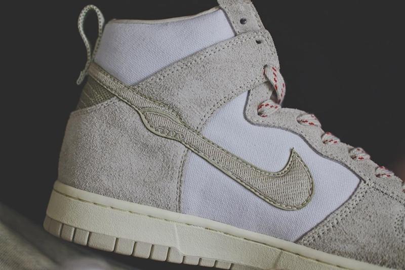 下一款 Nike Dunk 联名要来了,实物细节曝光!