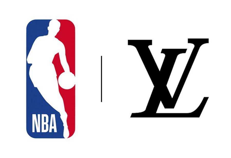 LV x NBA 最新联名鞋曝光!烫金 Logo 越看越香!