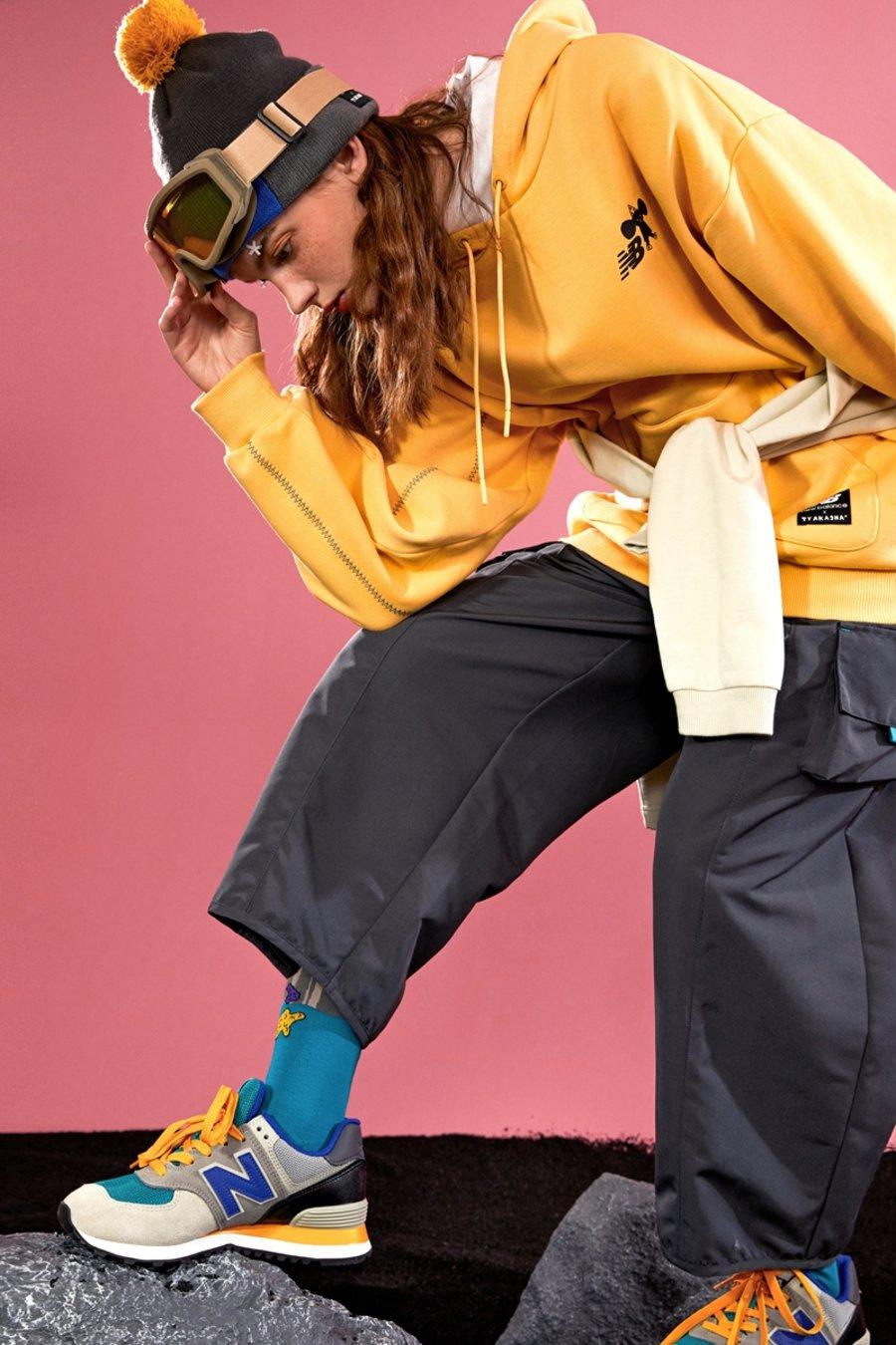 全新卡通设计!New Balance 携手 TYAKASHA 推出秋冬系列鞋服!