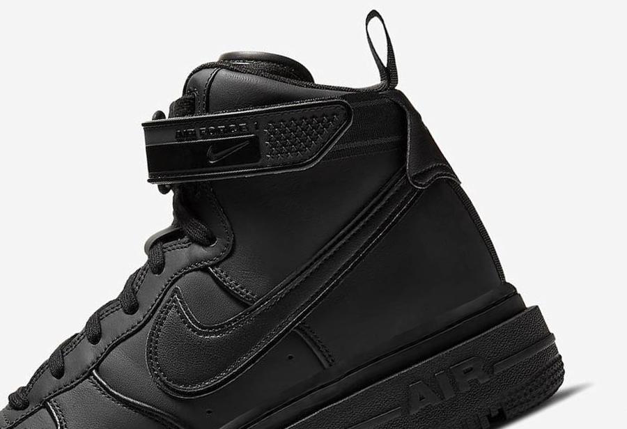 经典黑武士造型!全新 Nike Air Force 1 官图释出!