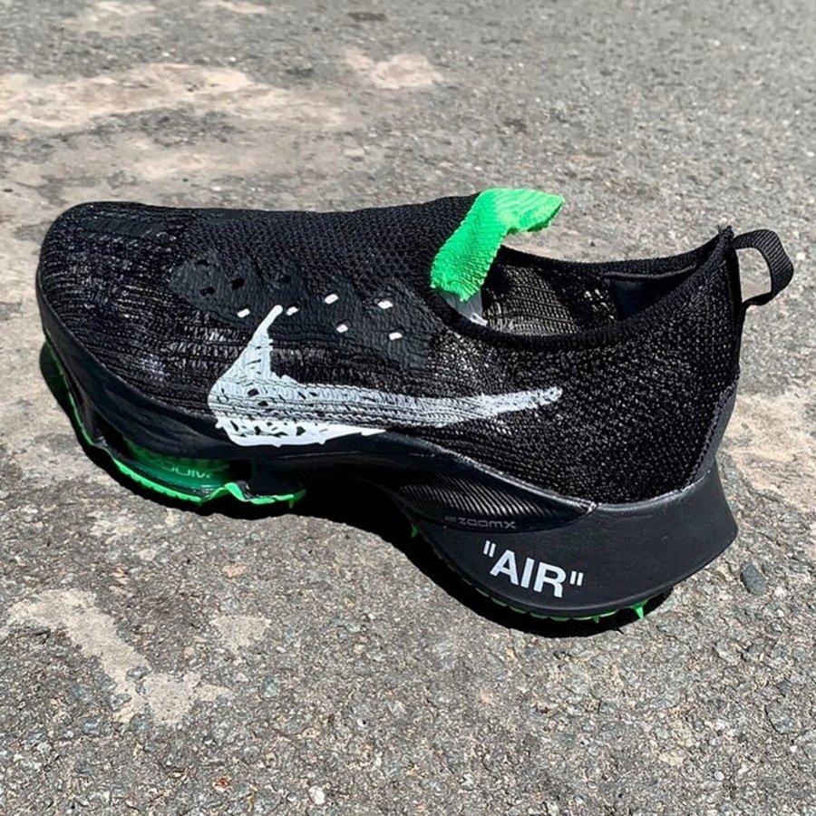 OFF-WHITE,Nike,Air Zoom Tempo  OFF-WHITE x Nike 最新联名曝光!首发就有三款配色,只不过...