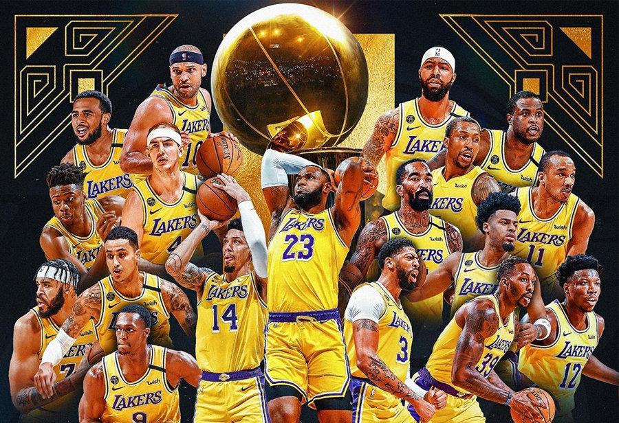Nike,詹姆斯,科比  湖人總冠軍!全世界網友慶祝致敬,一張照片看哭了!