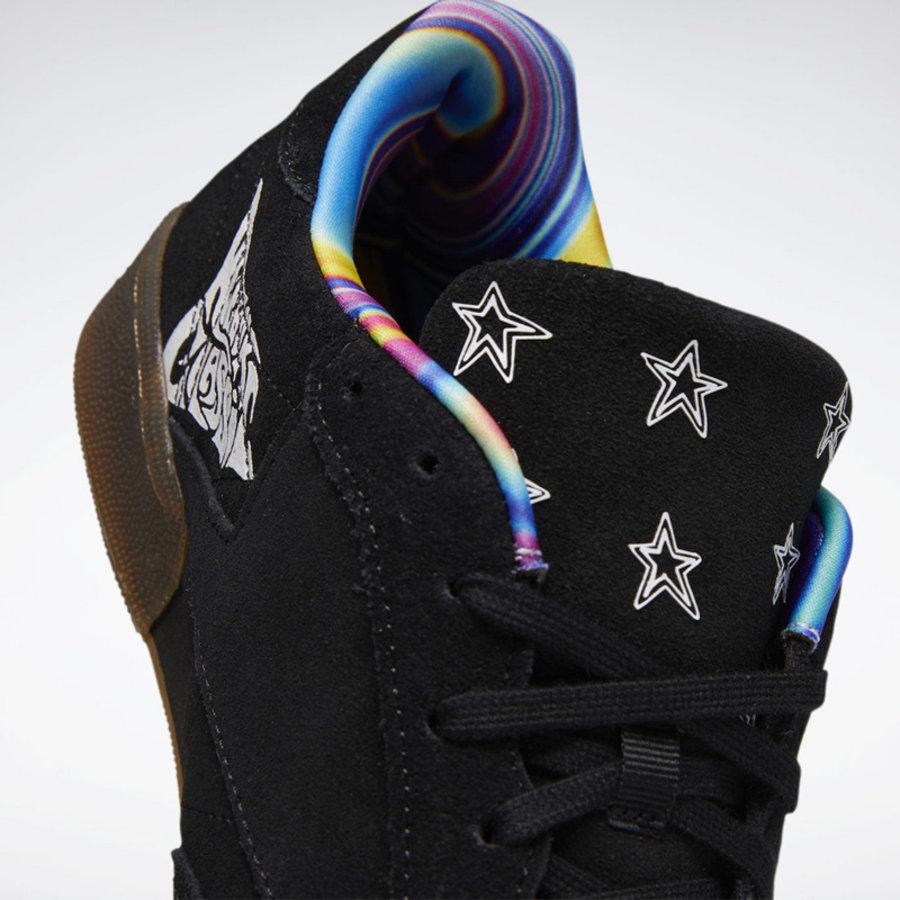 Reebok,Classic Leather,Peace T  纪念国际和平日!两双 Reebok 涂鸦风格新鞋太好看了!