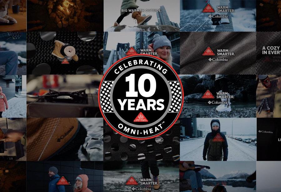 Columbia  专业户外装备!Columbia 奥米·热能反射技术降生 10 周年!