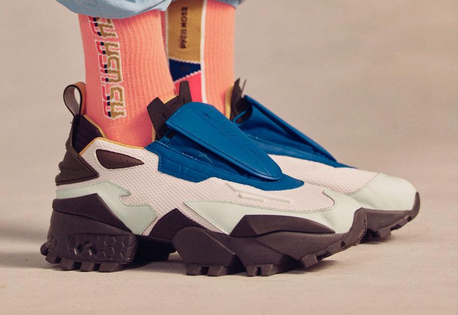 Pyer Moss,Reebok,Experiment 4  造型更前卫!Reebok「高达鞋」又有联名升级版!