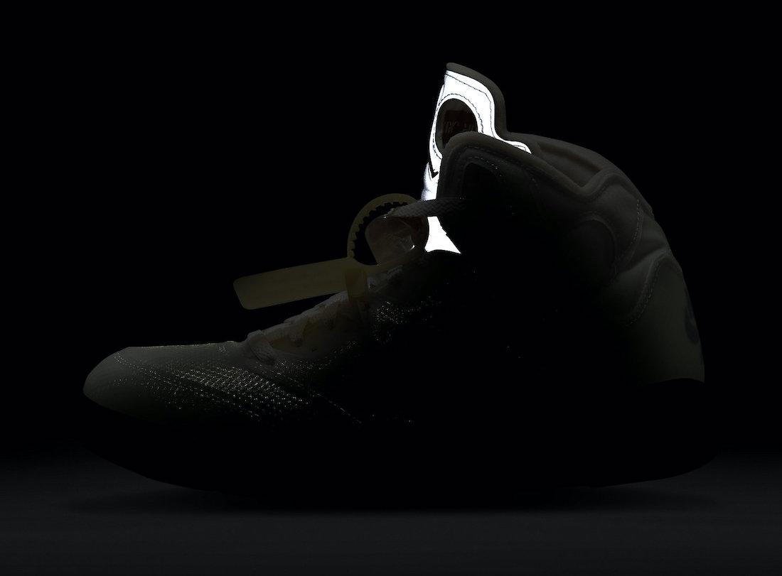 OFF-WHITE,Air Jordan 5,AJ5,发售,  氧化流川枫!OFF-WHITE x Air Jordan 5 下周发售!官图释出!