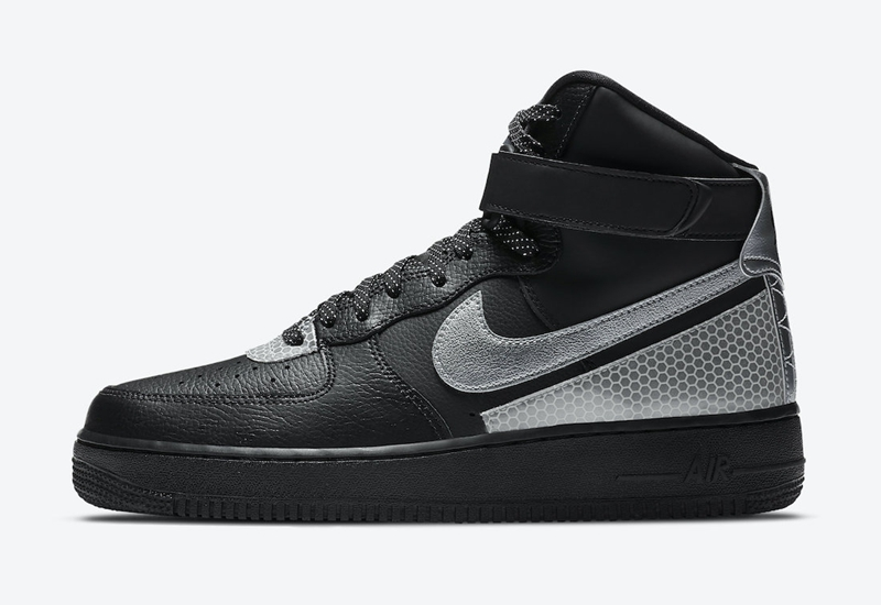 Nike,3M,Air Force 1 High,CU415  3M 反光效果加持!全新配色 Air Force 1 High 官图释出!