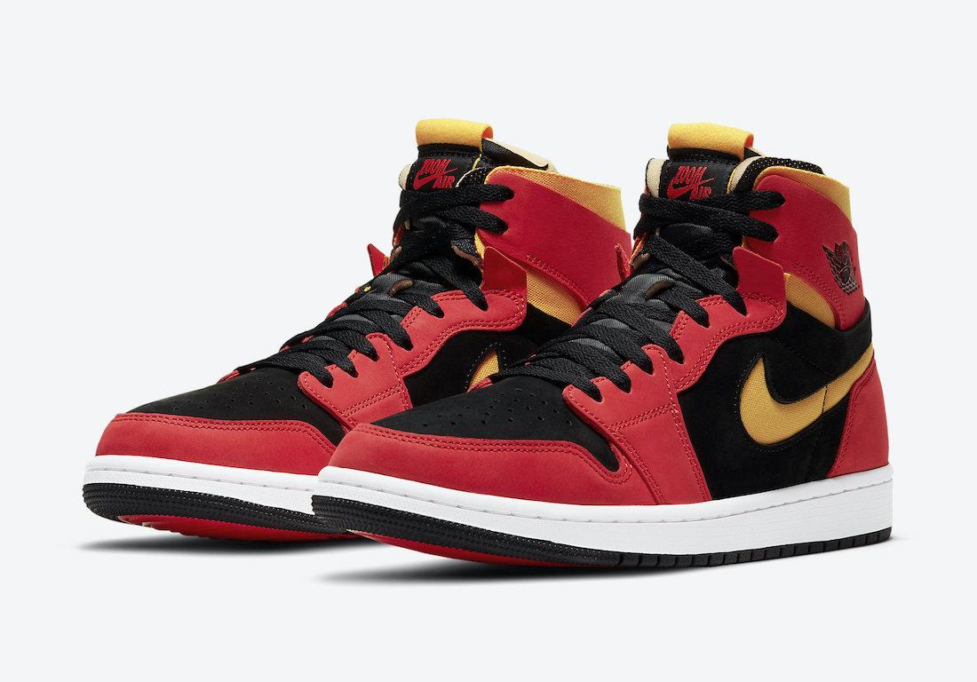 Air Jordan 1,AJ1,发售,CT0979-001  钢铁侠、小丑配色都有!三双 Air Jordan 1 Zoom 扎堆亮相