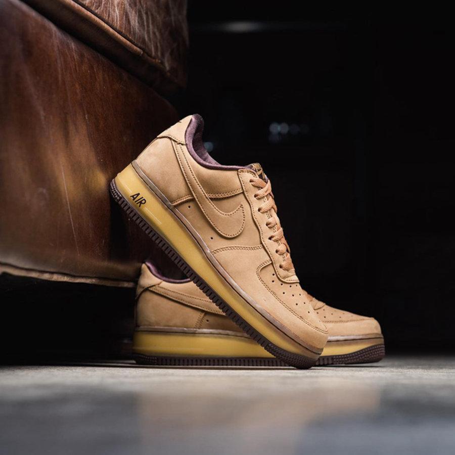 Nike,Air Force 1 Low,Wheat Moc  「大黄靴」既视感!小麦色 Air Force 1 实物美图曝光!