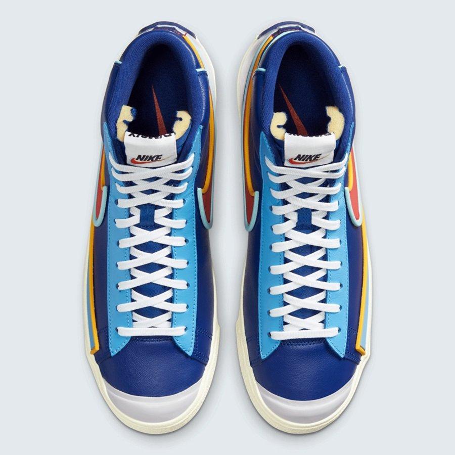 Nike,Blazer Mid '77,D/MS/X,DA7  三色叠加 Swoosh Logo!全新 Blazer Mid '77官图释出!
