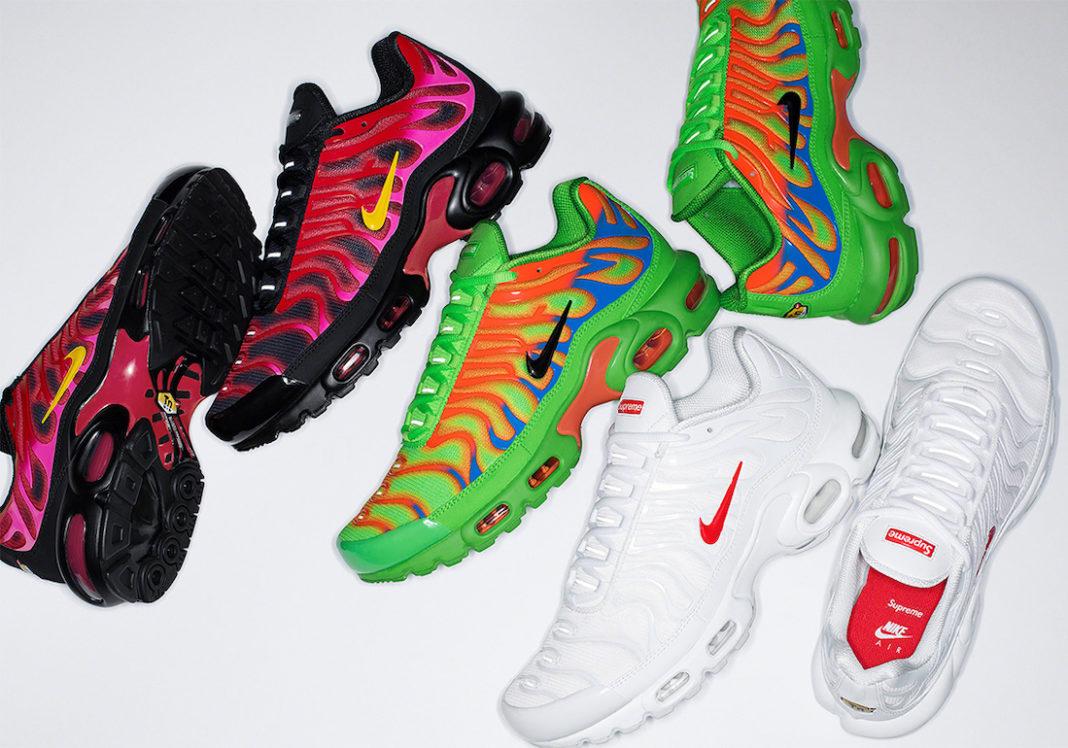 Supreme,Nike,Air Max Plus,DA14  还要多等一周!Supreme x Nike 新鞋 SNKRS 也会发!