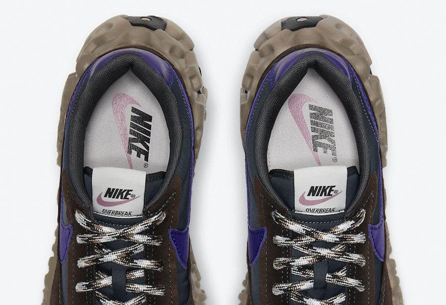 "Nike,OverBreak SP,Baroque Brow  神似 ""火星鞋""!Nike ISPA 家族迎来新品登场!"