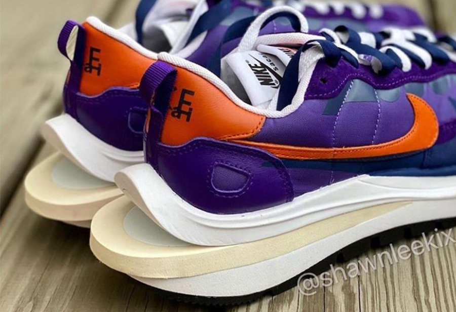 sacai,Nike,VaporWaffle,发售  sacai x Nike 新鞋第二波配色曝光!网友:先把第一波发了吧!