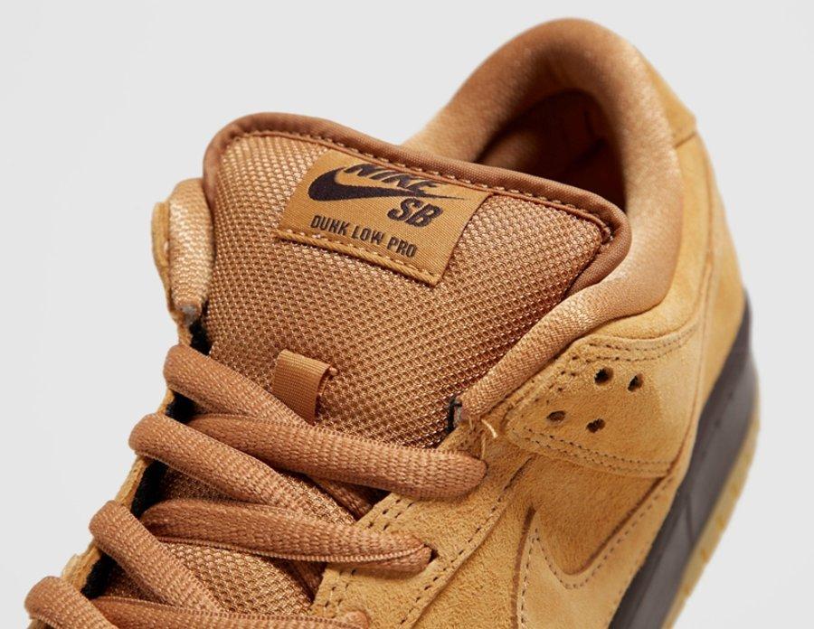 Nike SB,Dunk SB,Dunk Low Pro,W  今年秋冬的隐藏大招!小麦 Dunk SB 曝光,实物质感极佳!