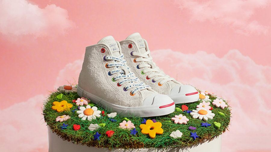 NANA,欧阳娜娜,Converse,Jack Purcel  欧阳娜娜 x Converse 首款联名鞋即将发售!特殊礼盒曝光!