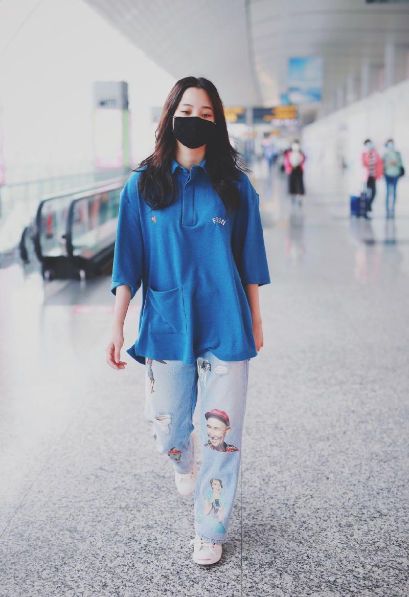明星球鞋  性感女 idol 三十岁穿球鞋又火了!近期球鞋女神还得看她!