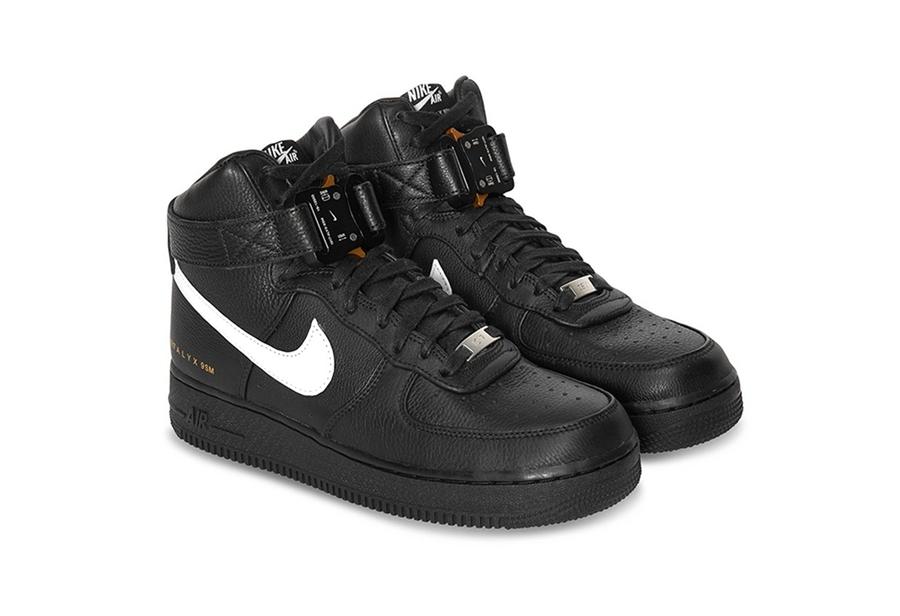Nike,Air Force 1,ALYX  机能扣带加持!两款 ALYX x Nike AF1 High 即将发售!