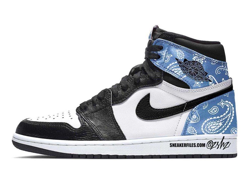 Air Jordan 1 KO,Paisley  人人都想要的腰果花 AJ1 终于来了!但鞋型竟然是...