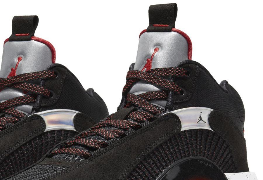 Air Jordan 35,AJ35,CQ4227-030  经典银色鞋舌来了!黑红 Air Jordan 35 首度亮相