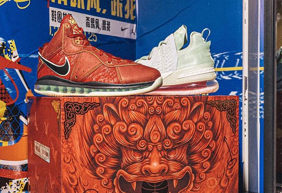 Nike,LeBron  仅有 600 套!还是中国限定!詹姆斯「紫禁重器」套装现已发售!
