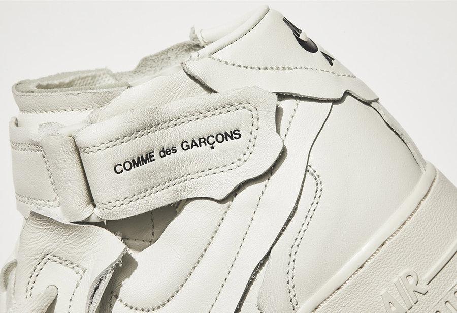Nike,CDG,AF1,发售  质感无敌!CDG x AF1 正式官宣!国内本月底发售