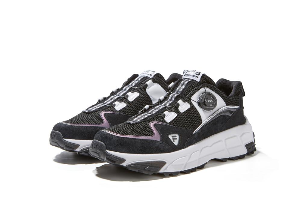 FILA FUSION,SKY RUNNER,White M  蔡徐坤上脚示范!白山 x FILA FUSION 联名鞋超限量发售!