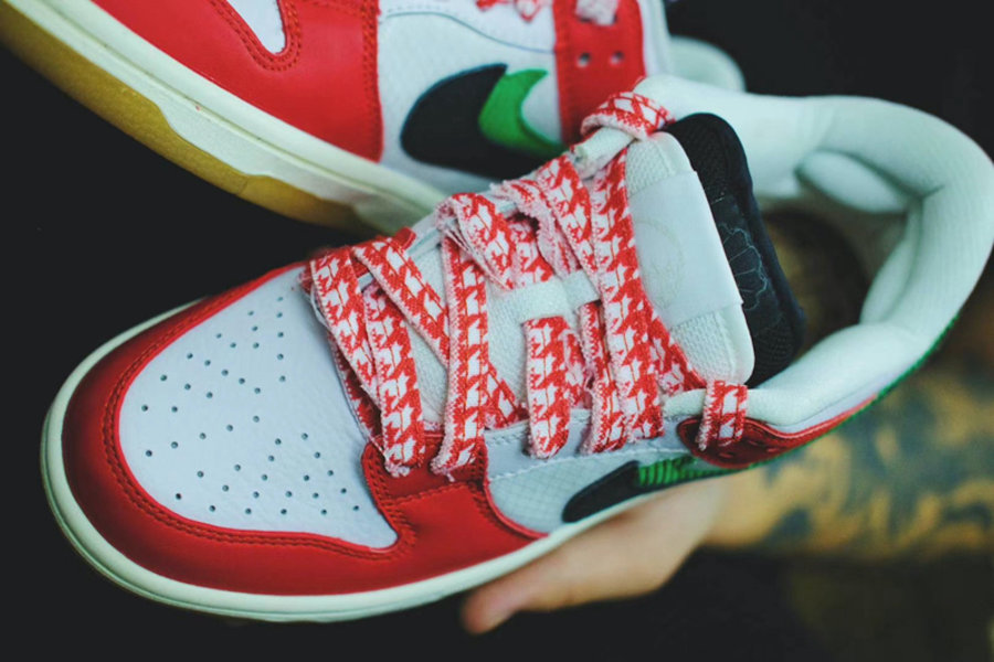 Frame Skate,Nike SB,Dunk Low,H  双层鞋舌暗藏细节!「双钩」Dunk SB 实物图来了!