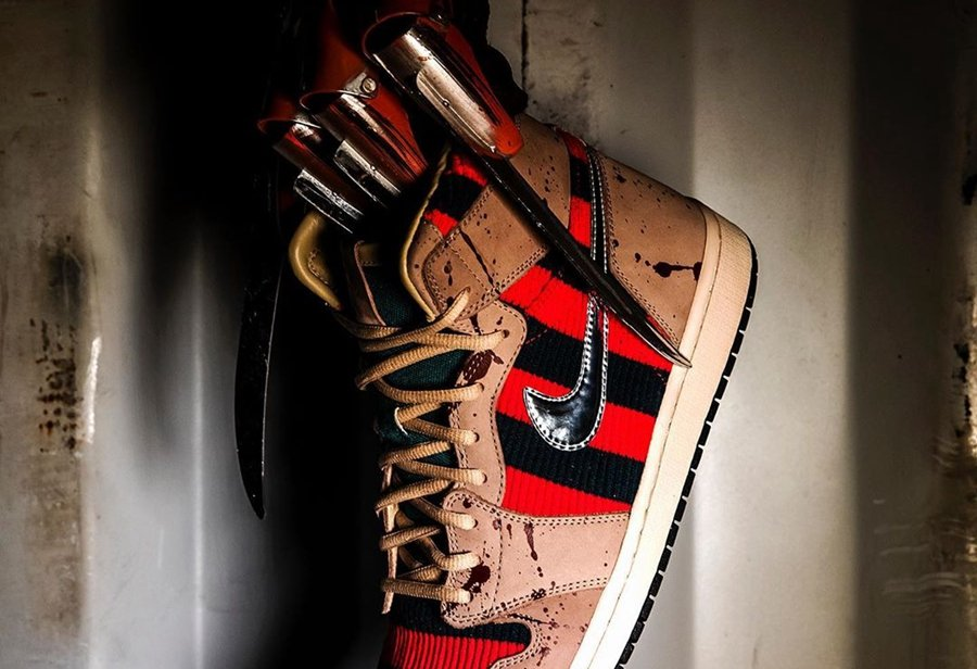 AJ1,Air Jordan 1,The Shoe Surg  还原经典恐怖造型!超高定价的「弗莱迪」Air Jordan 1 即将登场!