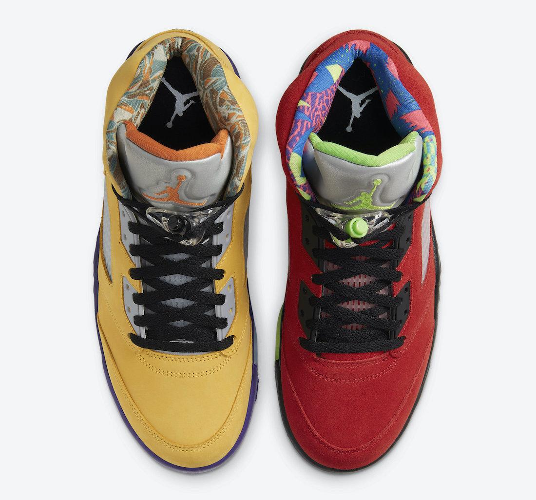"""AJ5,Air Jordan 5,CZ5725-700,发售  最新消息来了!AJ5 """"What The"""" 官图释出!发售推迟!"""