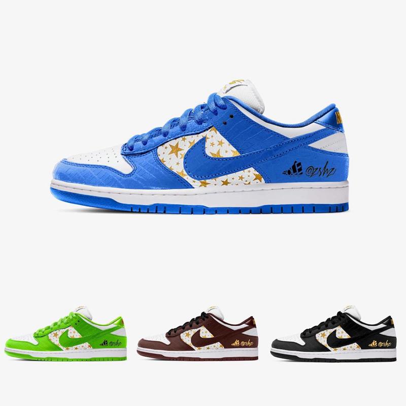 Supreme,Nike SB,Dunk Low,DH322 四款配色 Supreme x Nike Dunk SB 曝光!发售日期定档...