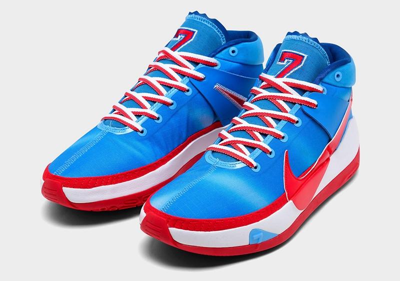 Nike,Kyrie Low 3,KD 13,Tie-Dye  复古球衣装扮!全新 KD13 和 Kyrie Low 3 实物图释出!