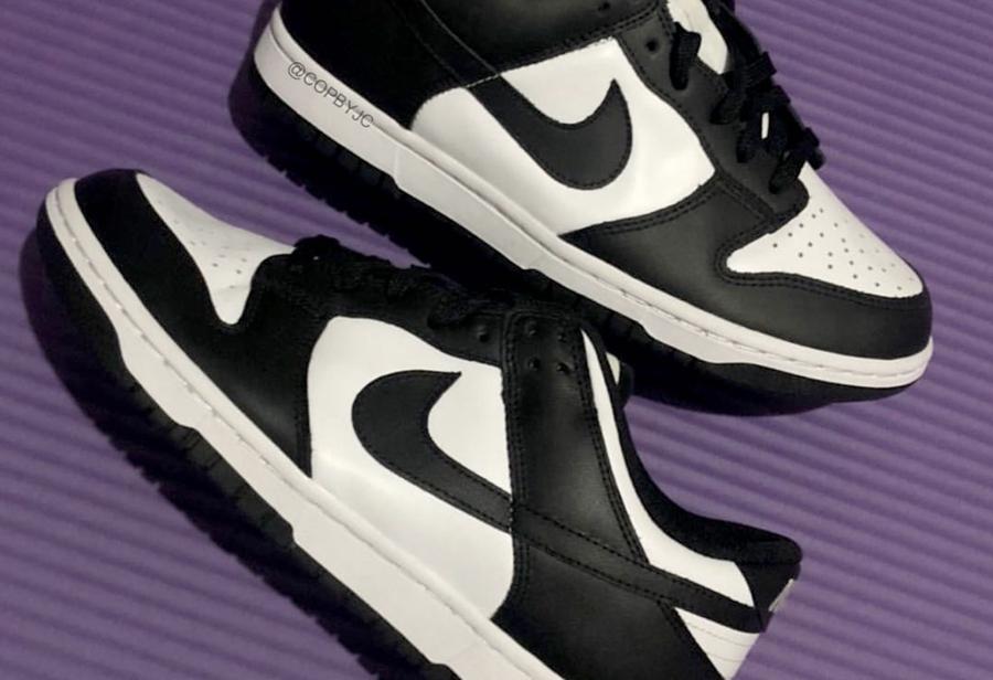 Nike Dunk Low 新品明年发售!我愿称之为「熊猫」配色!