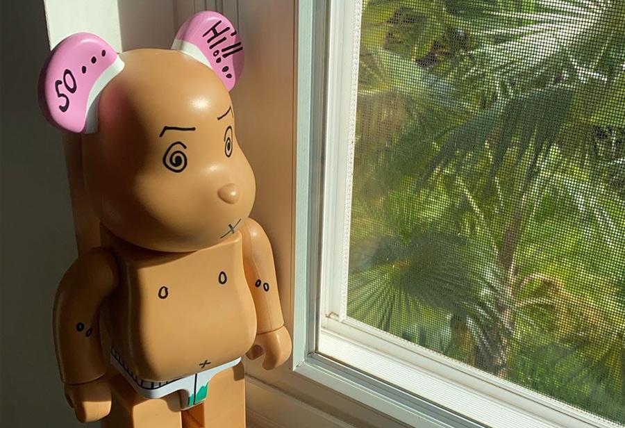 BE@RBRICK  冠希一周三次晒「同款纹身」积木熊!难道是要发售的节奏?