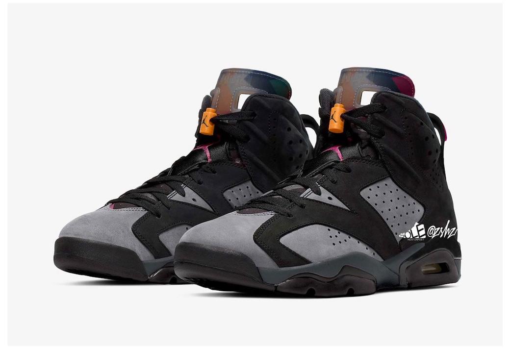 """CT8529-063,AJ6,Air Jordan 6 CT8529-063 经典主题!波尔多 Air Jordan 6 """"Bordeaux"""" 即将发售!"""